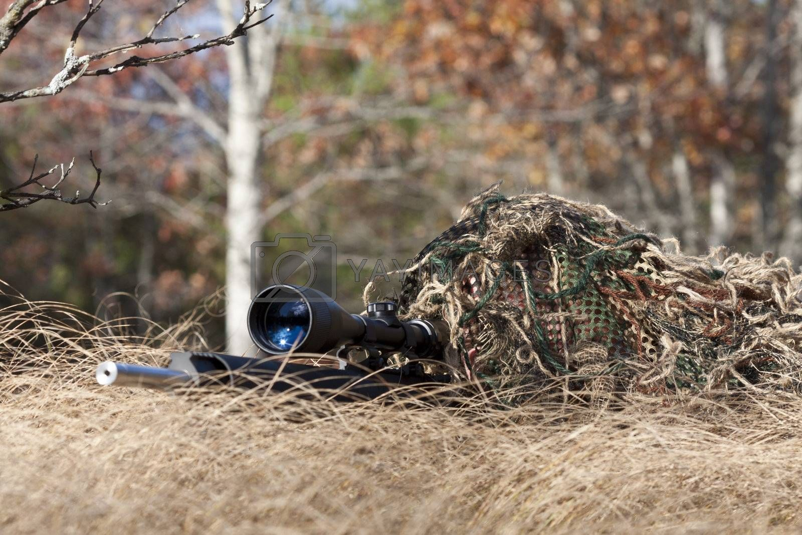 Royalty free image of sniper by snokid