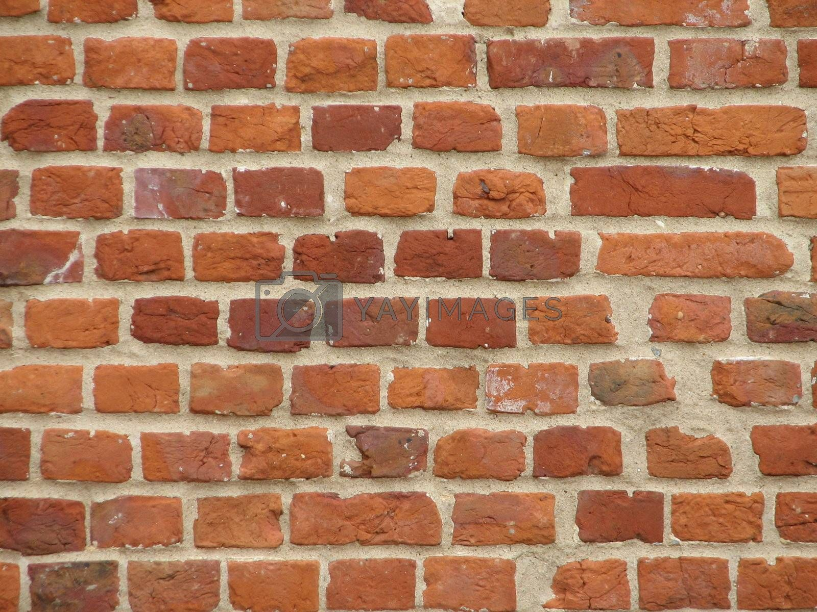 Brick wall as a stone background
