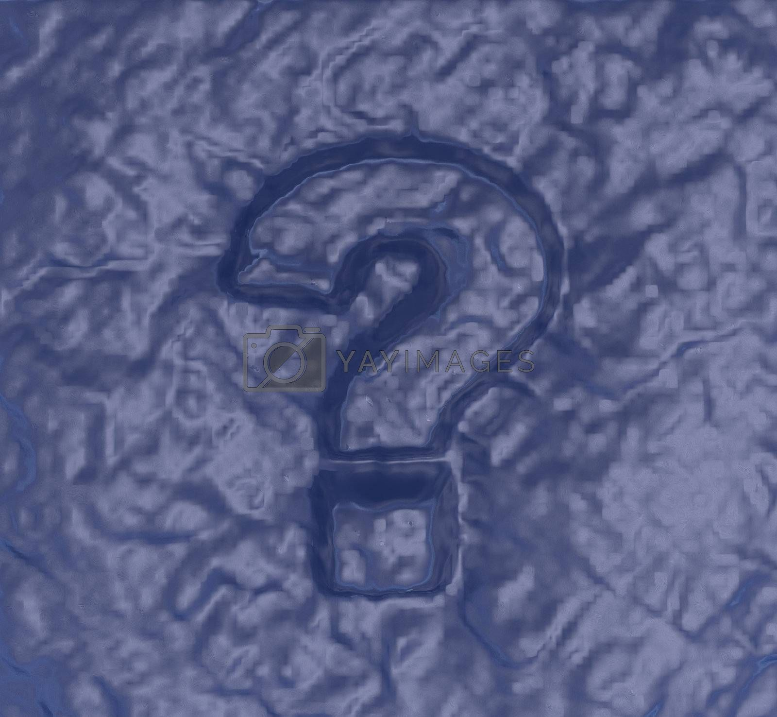 Royalty free image of question mark by drizzd