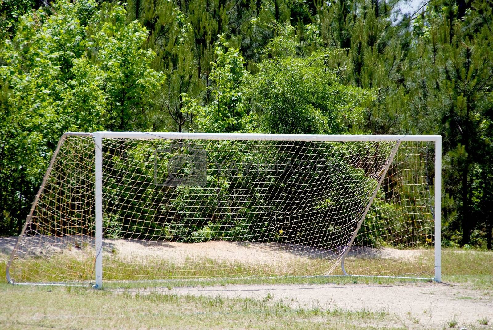 Royalty free image of Soccer Goal by robeo