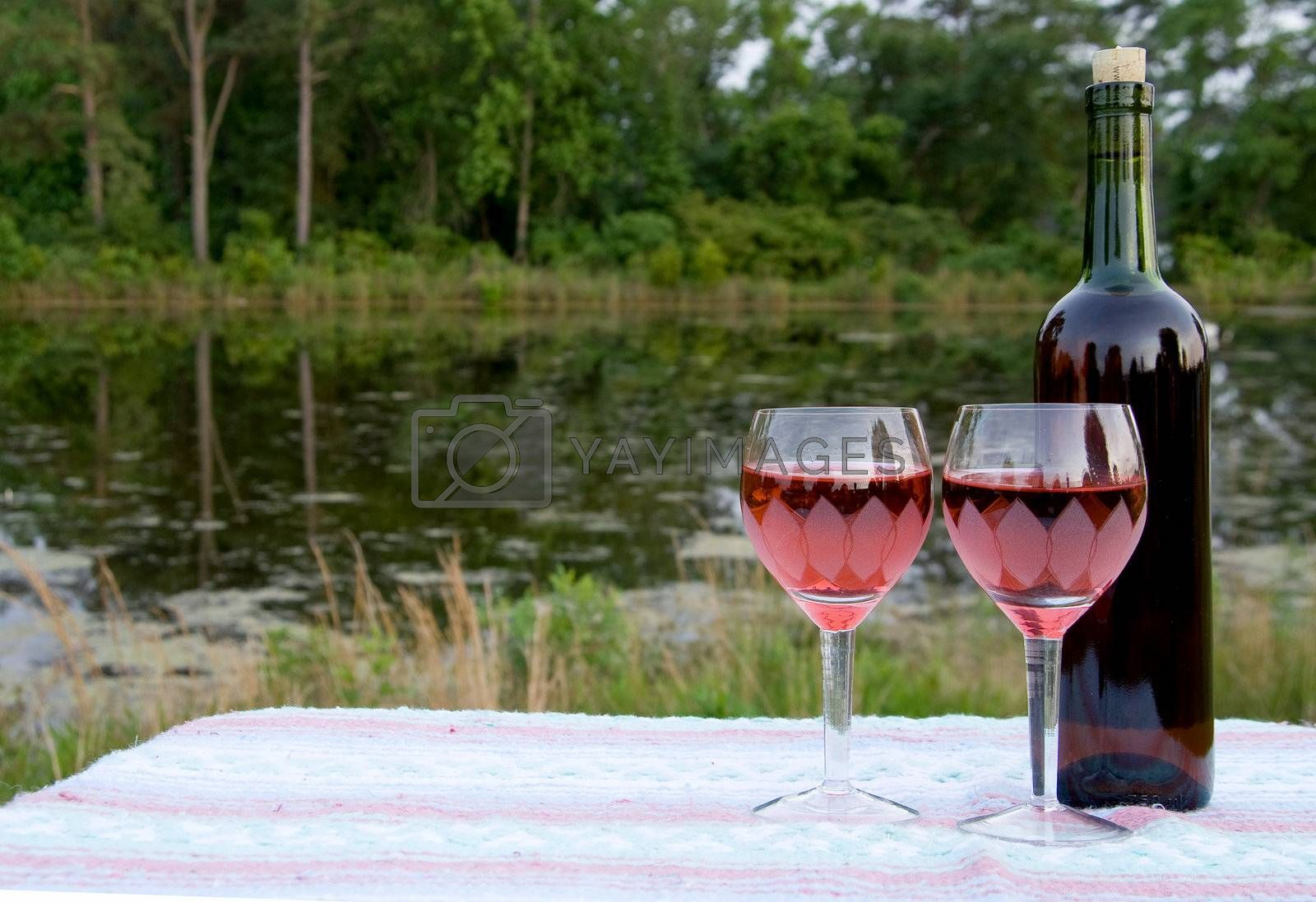 Royalty free image of Red Wine by robeo