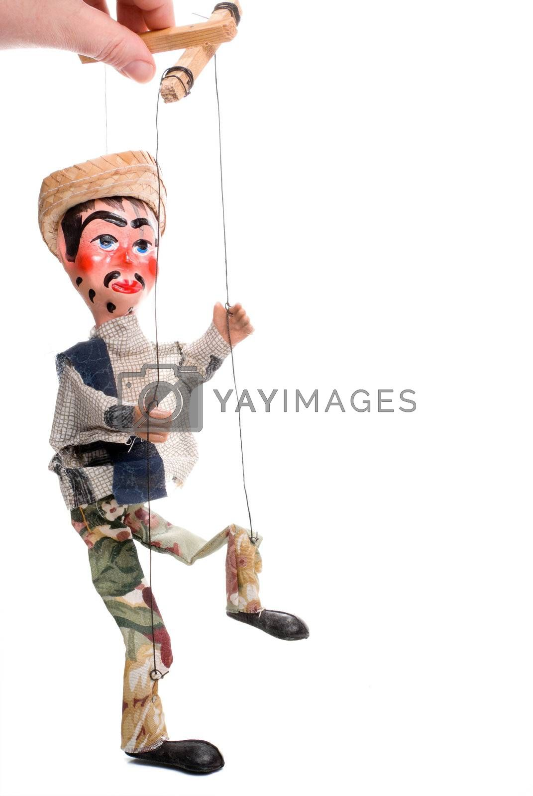 Royalty free image of Marionette by robeo