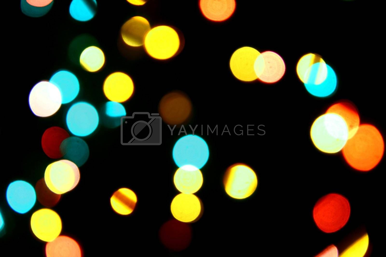 motion colored  bokeh abstract background
