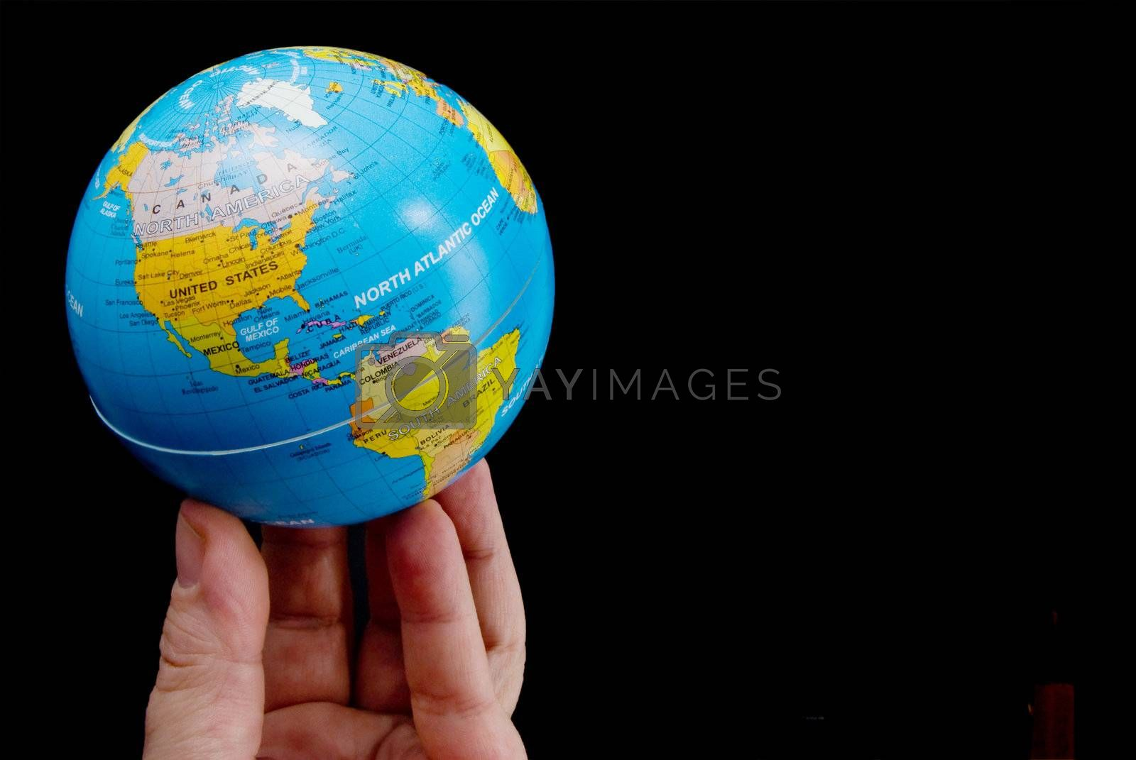 The concept of the world at my fingertips.