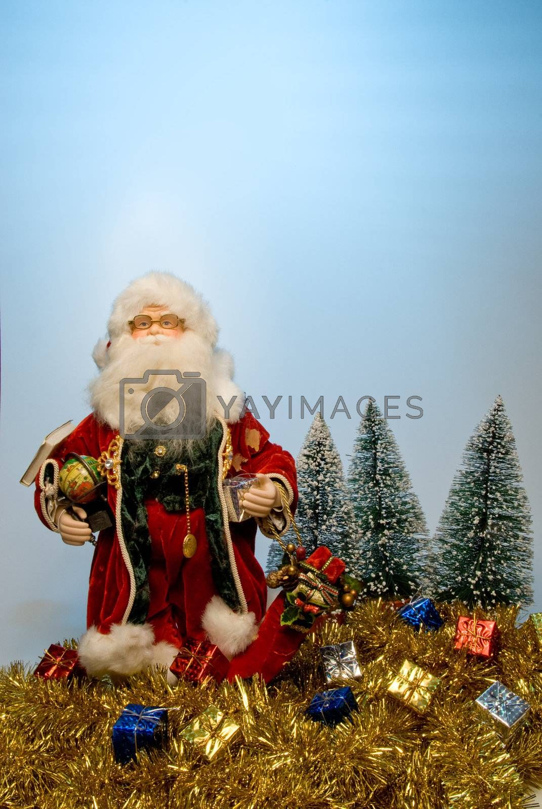 That joly old elf known better as Santa Claus.