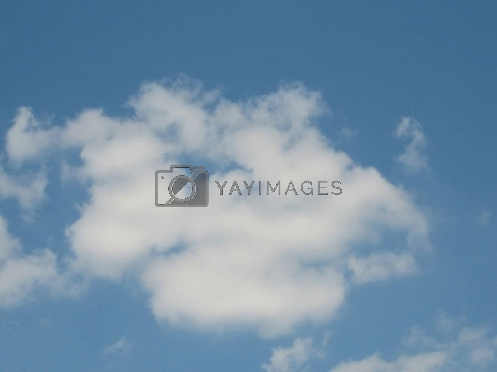 Sky with good-weather-clouds, usable as background