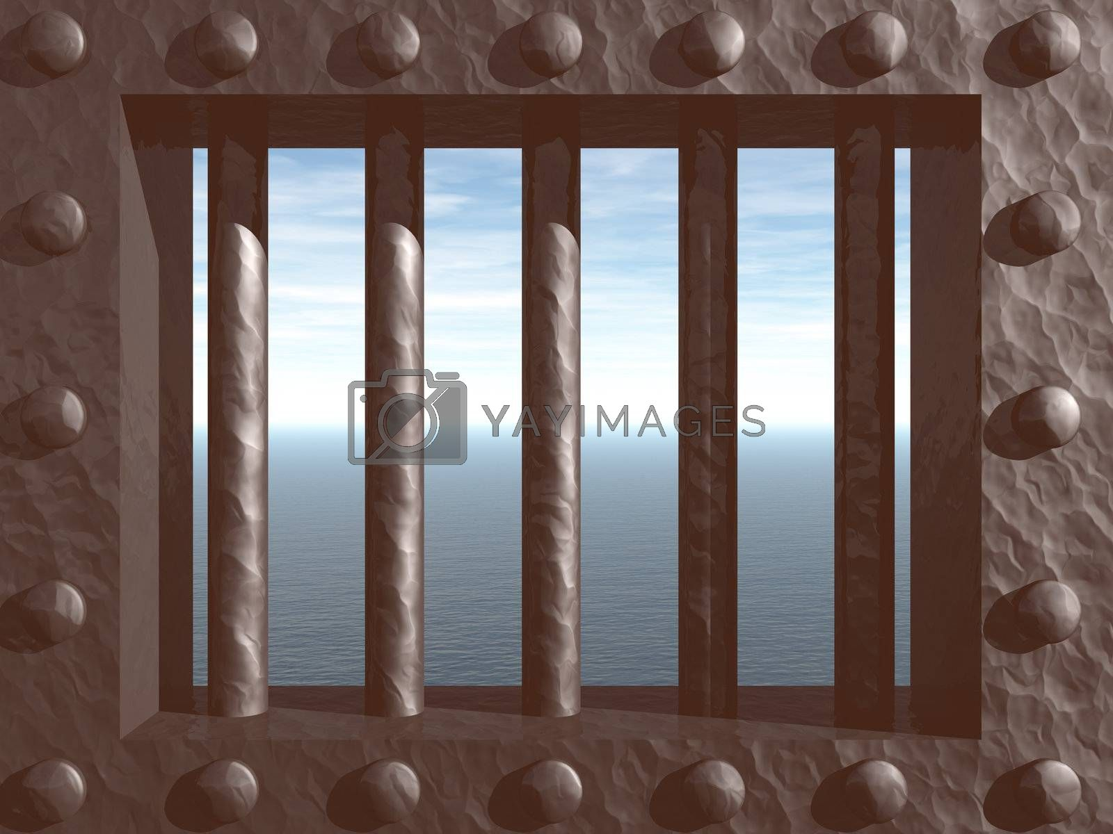 Royalty free image of prison by drizzd