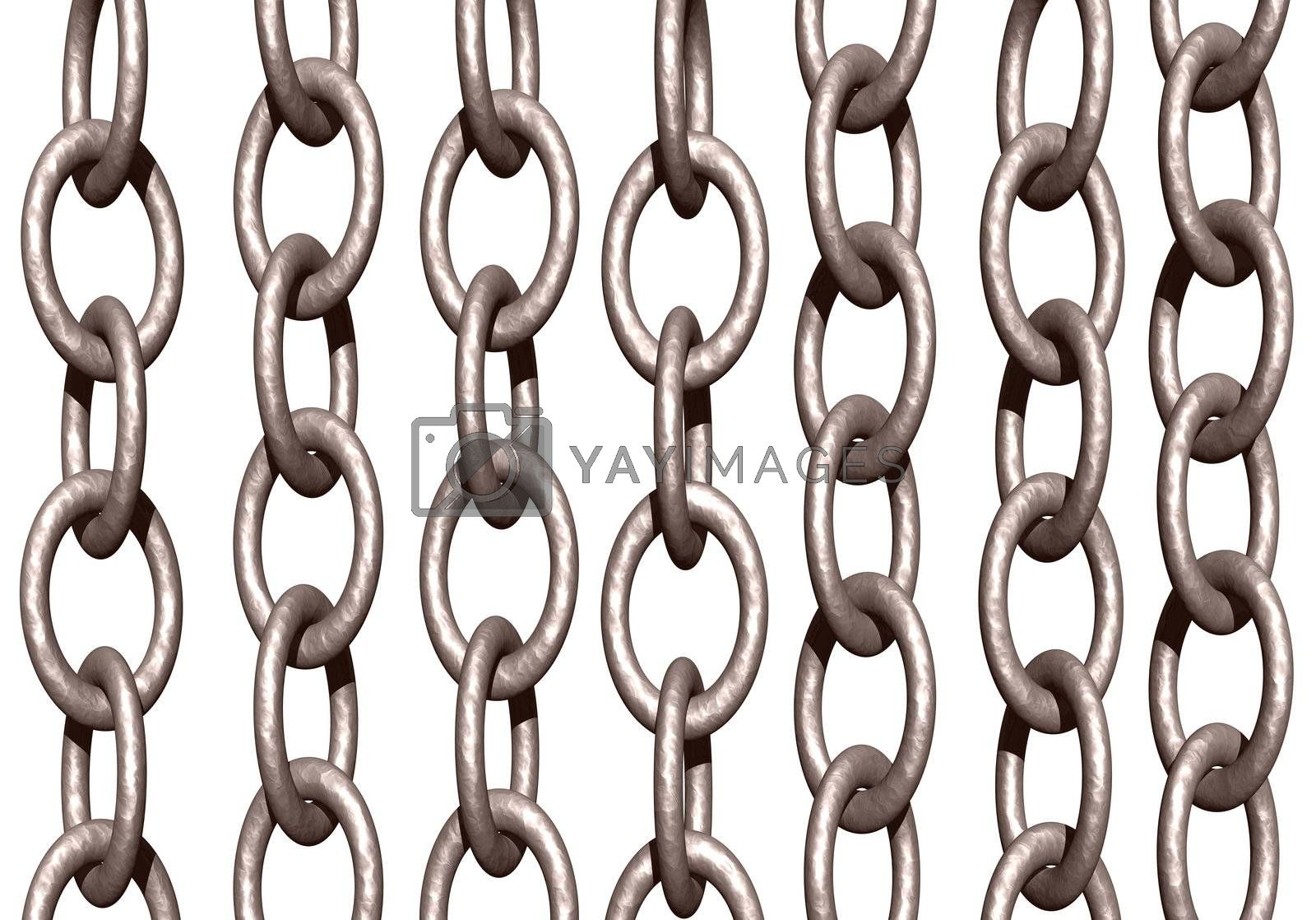 Royalty free image of chains by drizzd