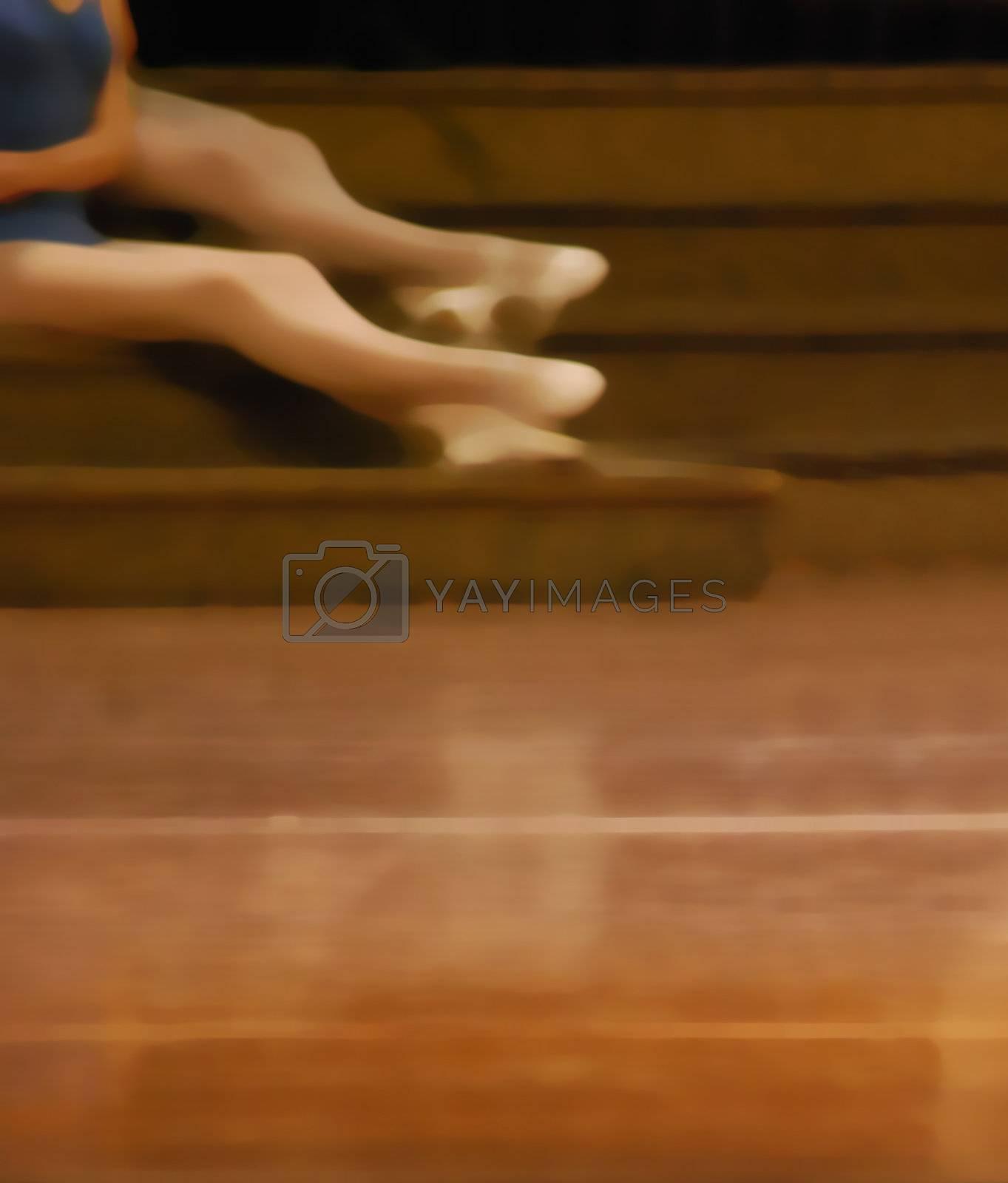 Illustration ballet training