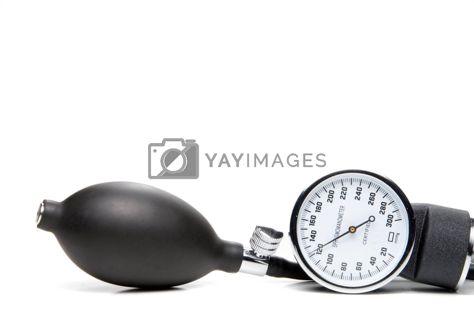 Royalty free image of Sphygmomanometer by robeo