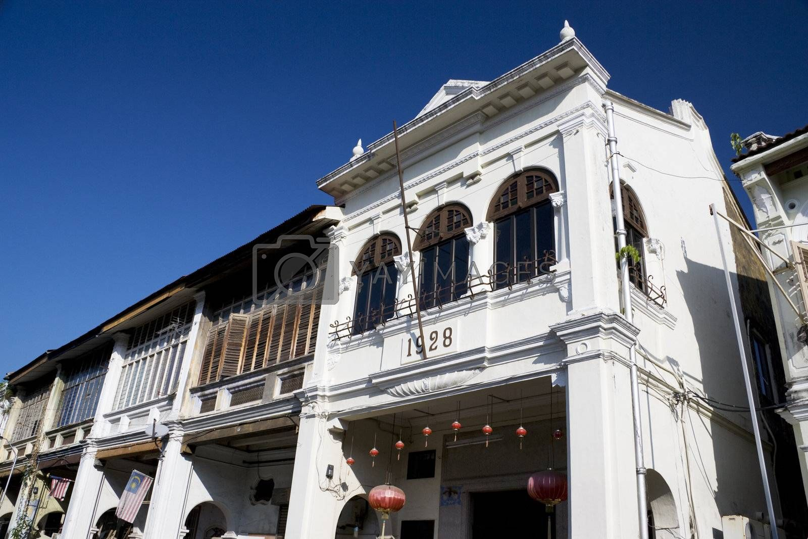 Royalty free image of George Town Heritage Buildings by shariffc