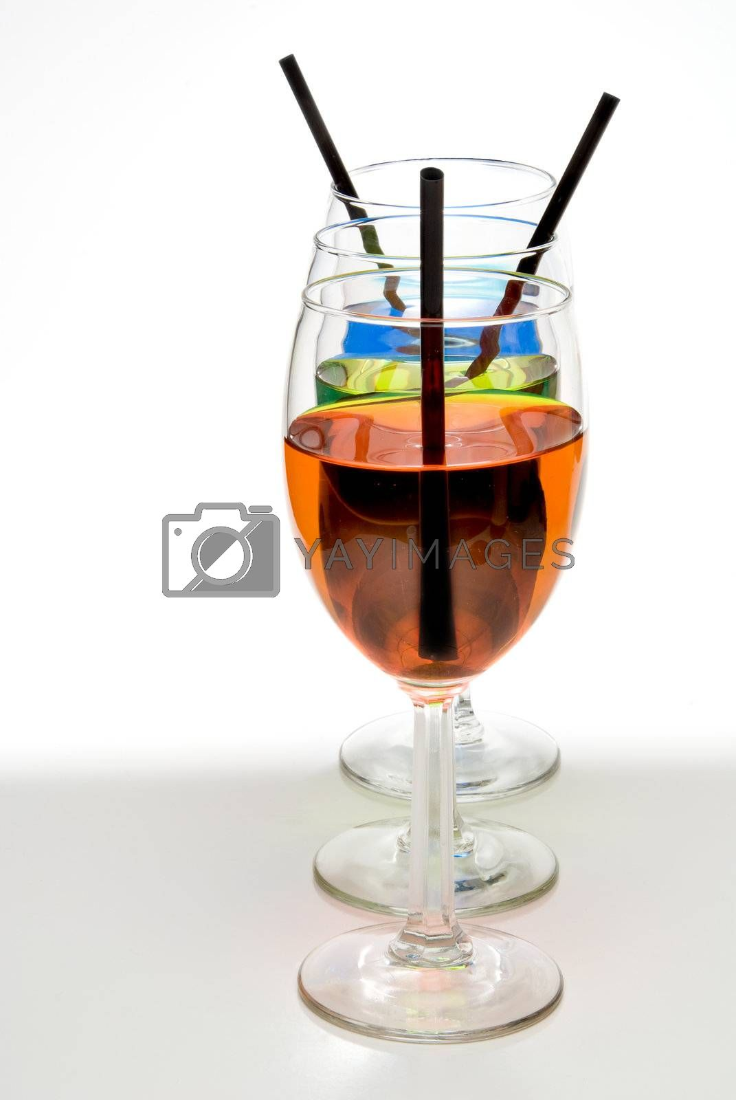Royalty free image of Colorful Wine by robeo