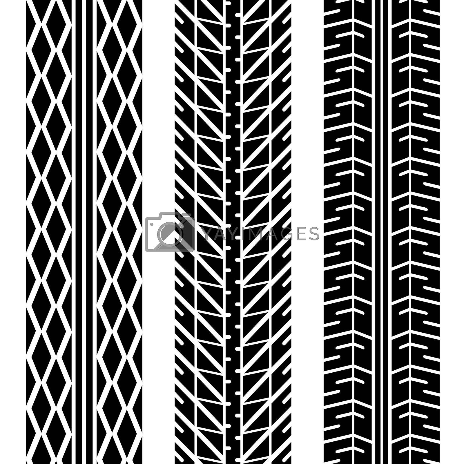 Royalty free image of road tires by nicemonkey