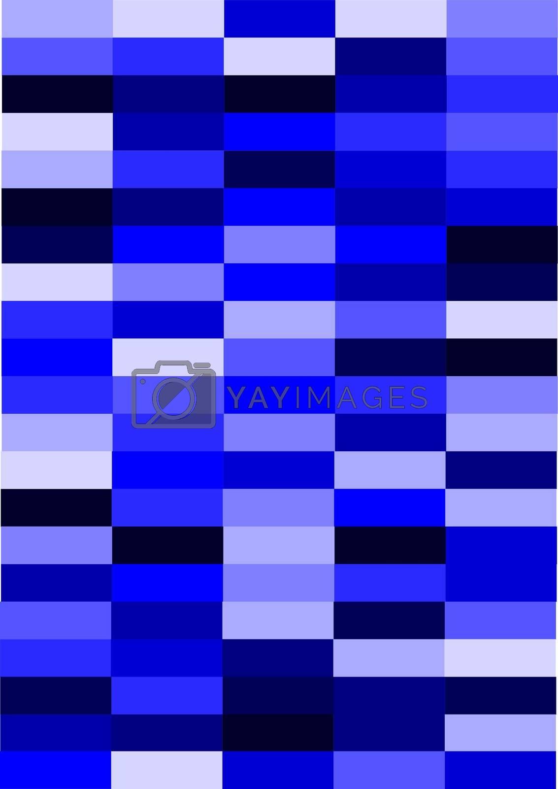 Royalty free image of Blue Block Background by jasony00