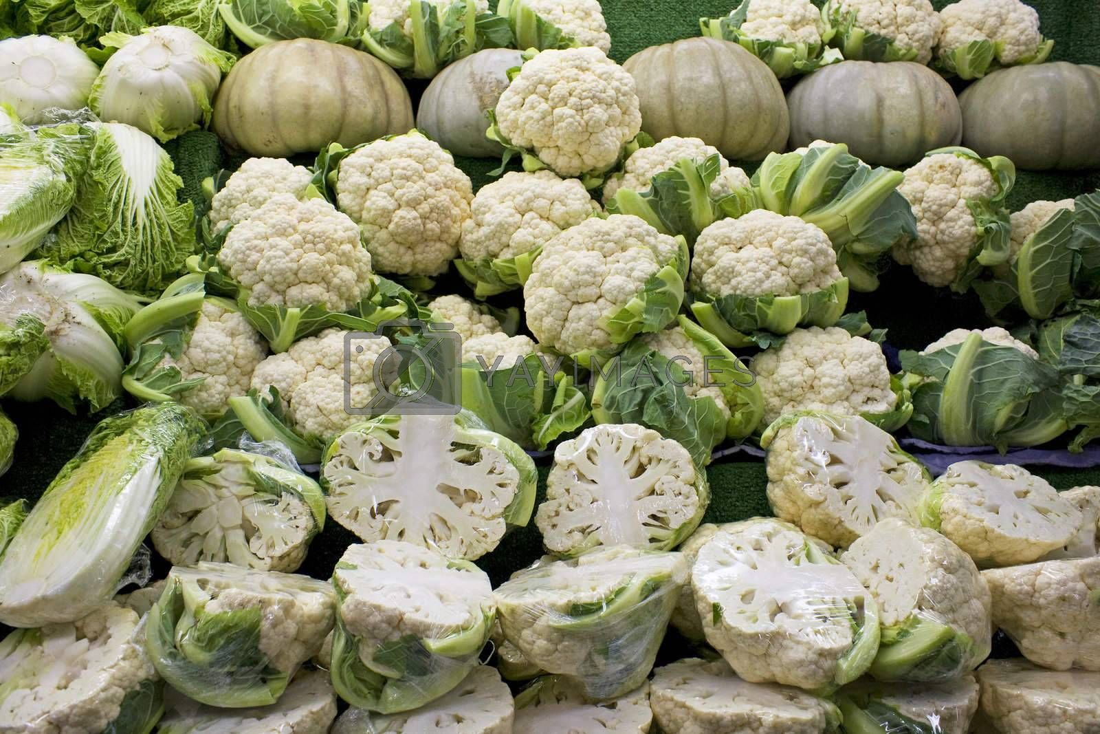 Royalty free image of Fresh Vegetables for Sale by shariffc