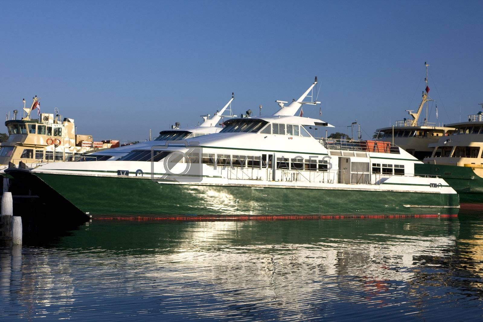Royalty free image of Ferry at Mort Bay, Sydney by shariffc
