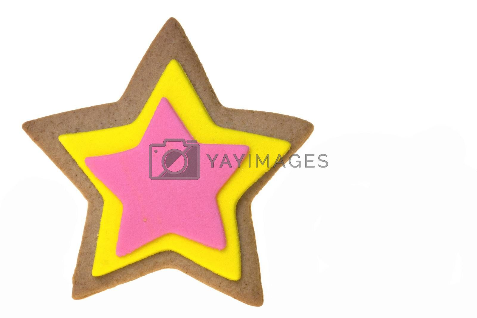 Royalty free image of Ginger Bread Isolated by shariffc