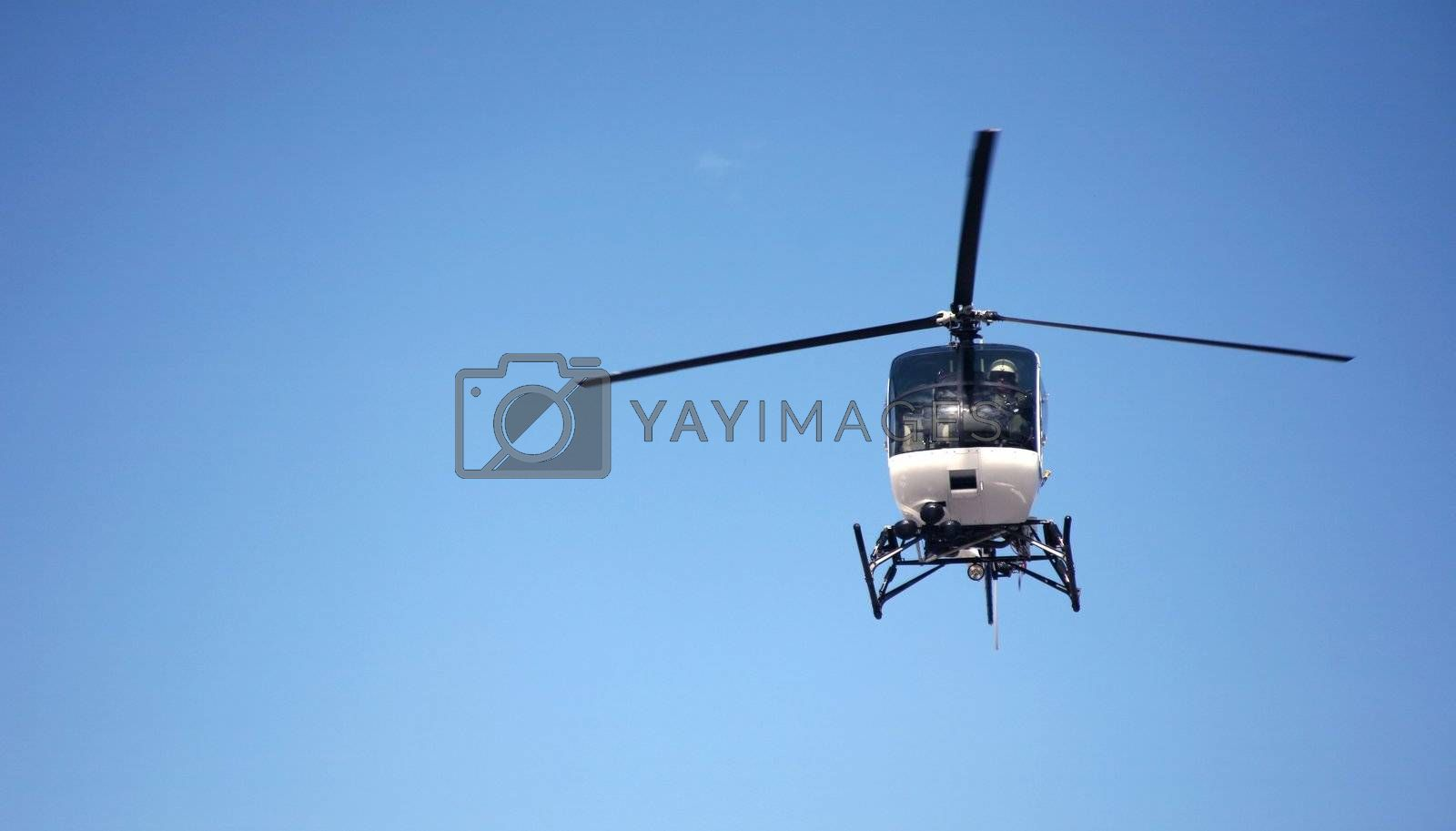 Royalty free image of Helicopter by scrappinstacy
