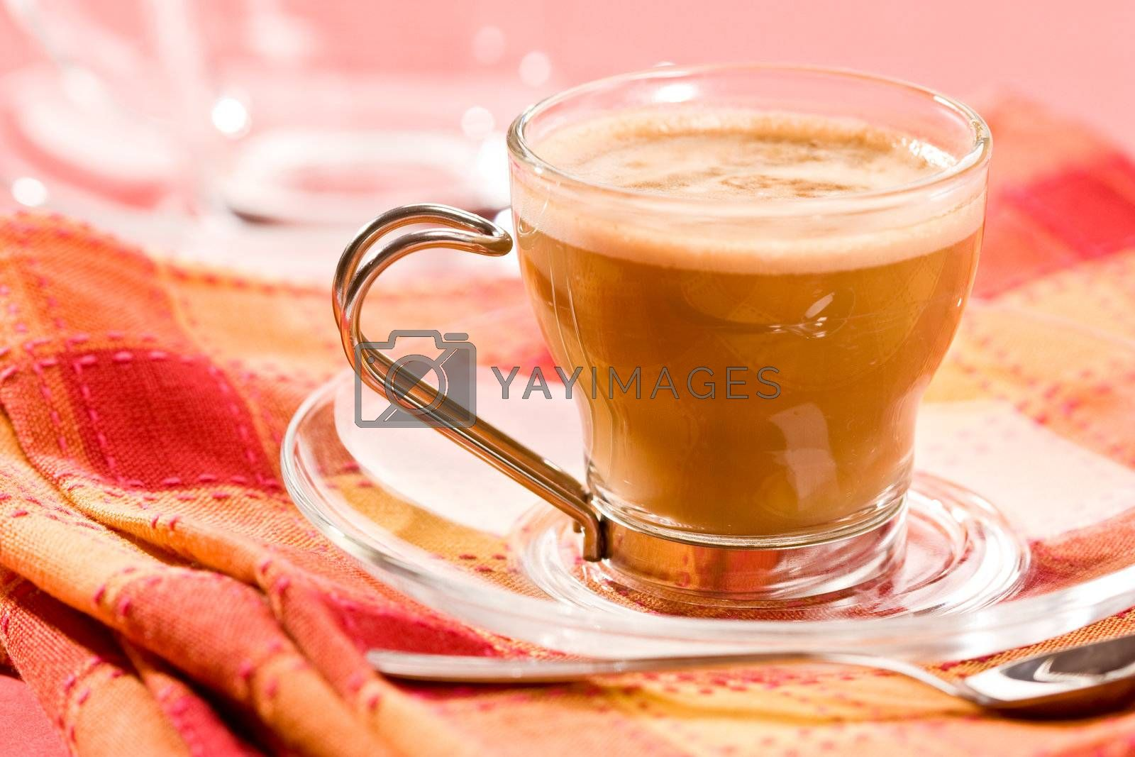 Royalty free image of cappuccino by agg