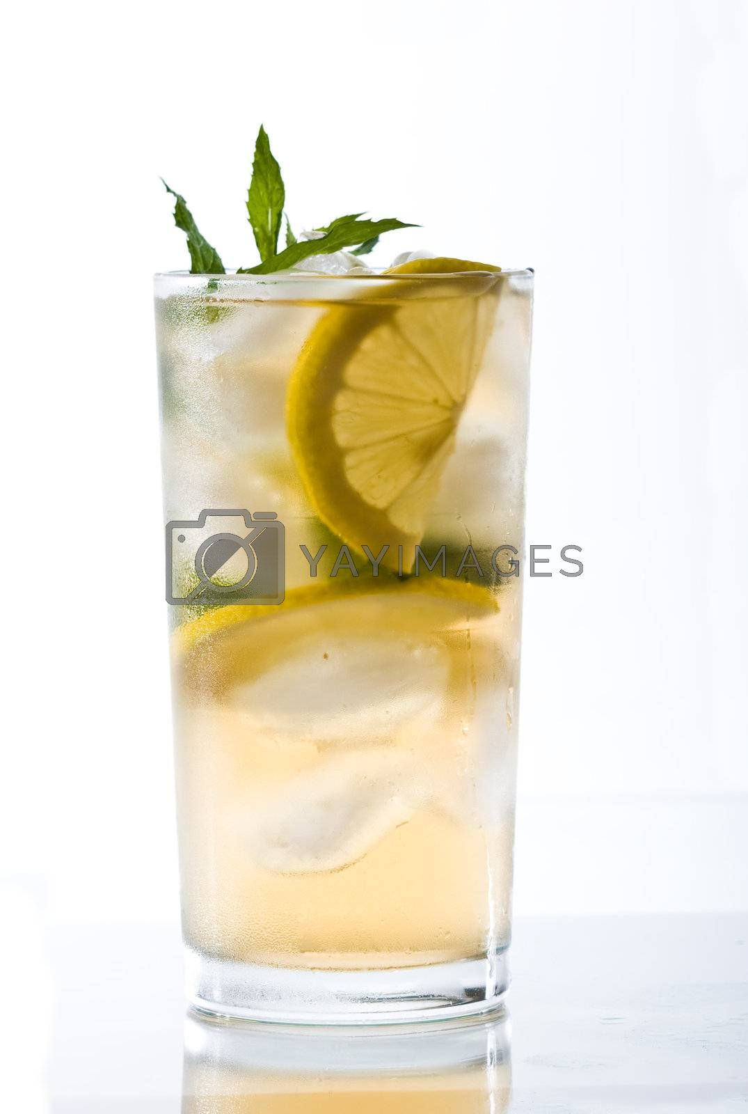 Royalty free image of cold tea by agg