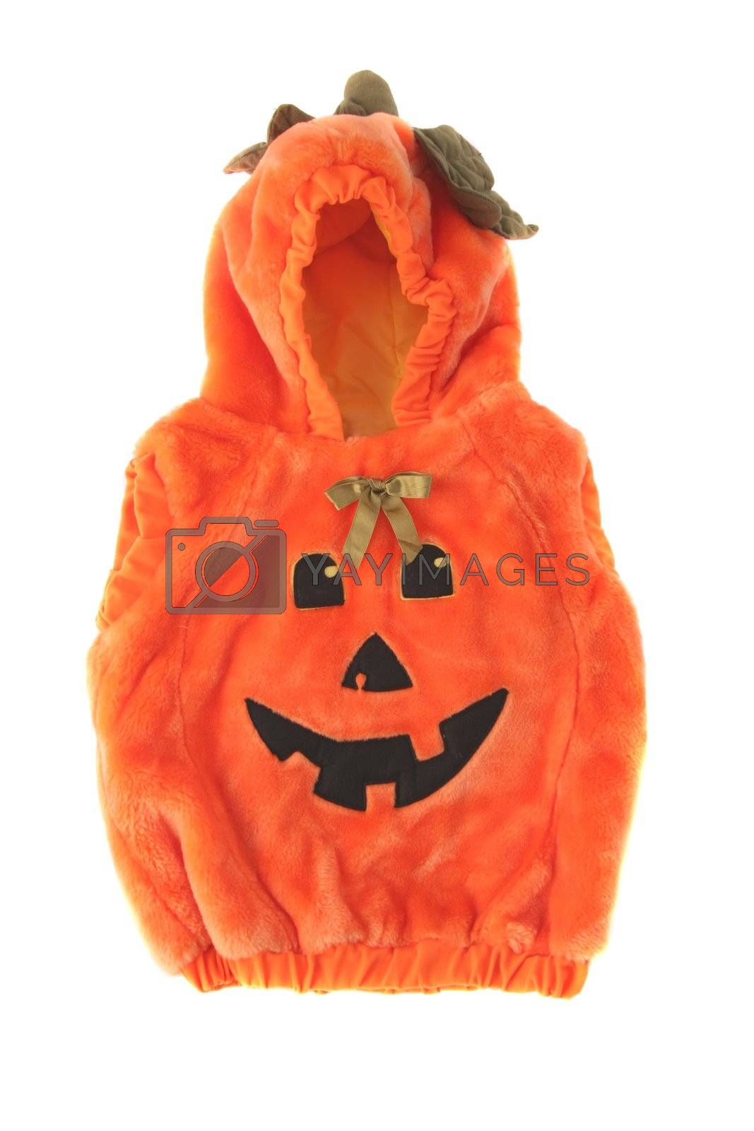 Royalty free image of Halloween pumpkin costume by scrappinstacy