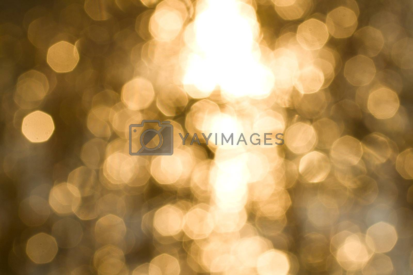 Royalty free image of abstract gold background by Alekcey