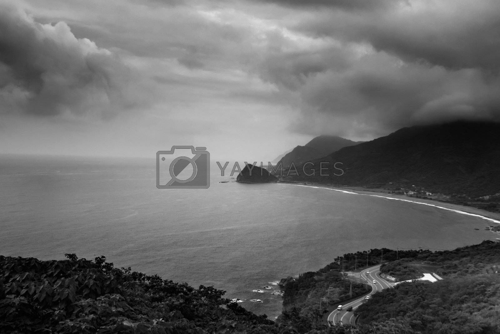 Royalty free image of beautiful seascape  by elwynn