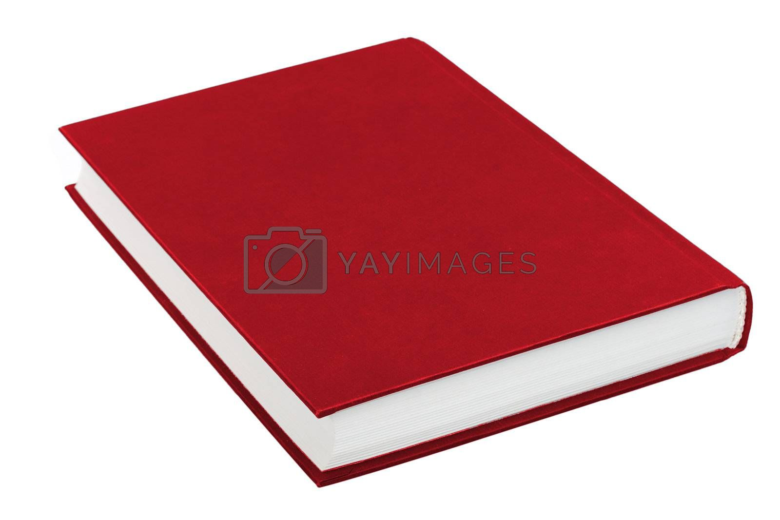 Royalty free image of red book by Alekcey