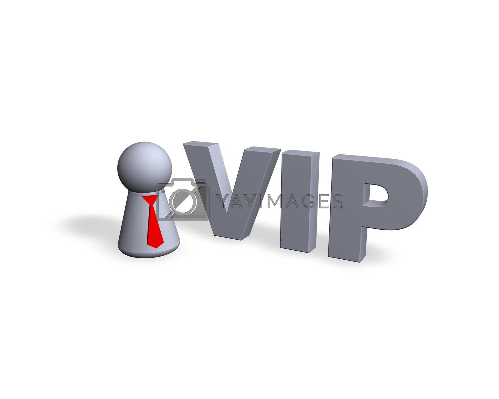 Royalty free image of vip by drizzd