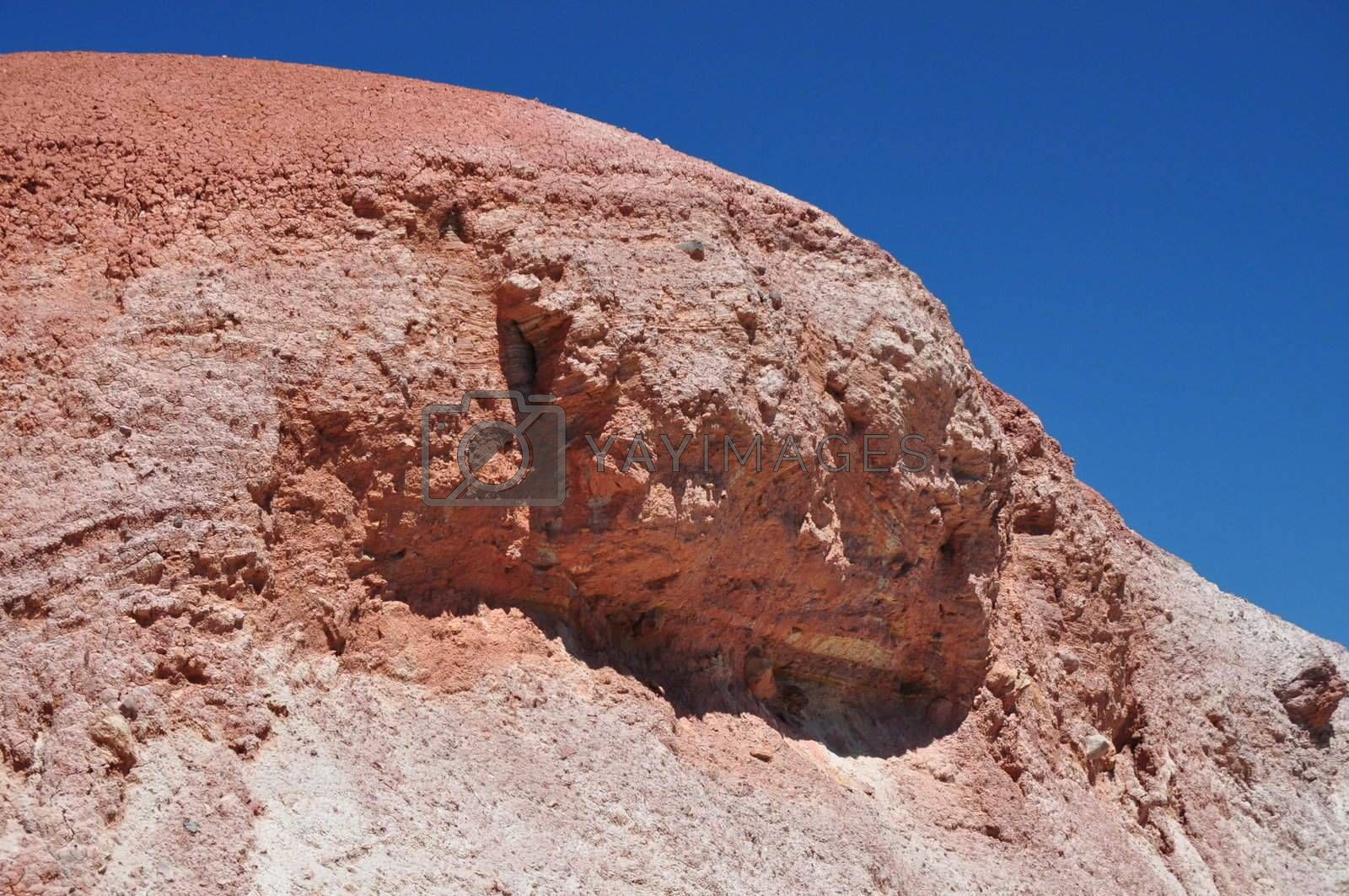 Rock formation in the Hallett Cove Conservation Park, South Australia.