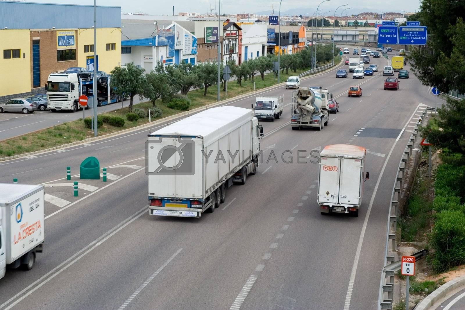 Trucking in Spain