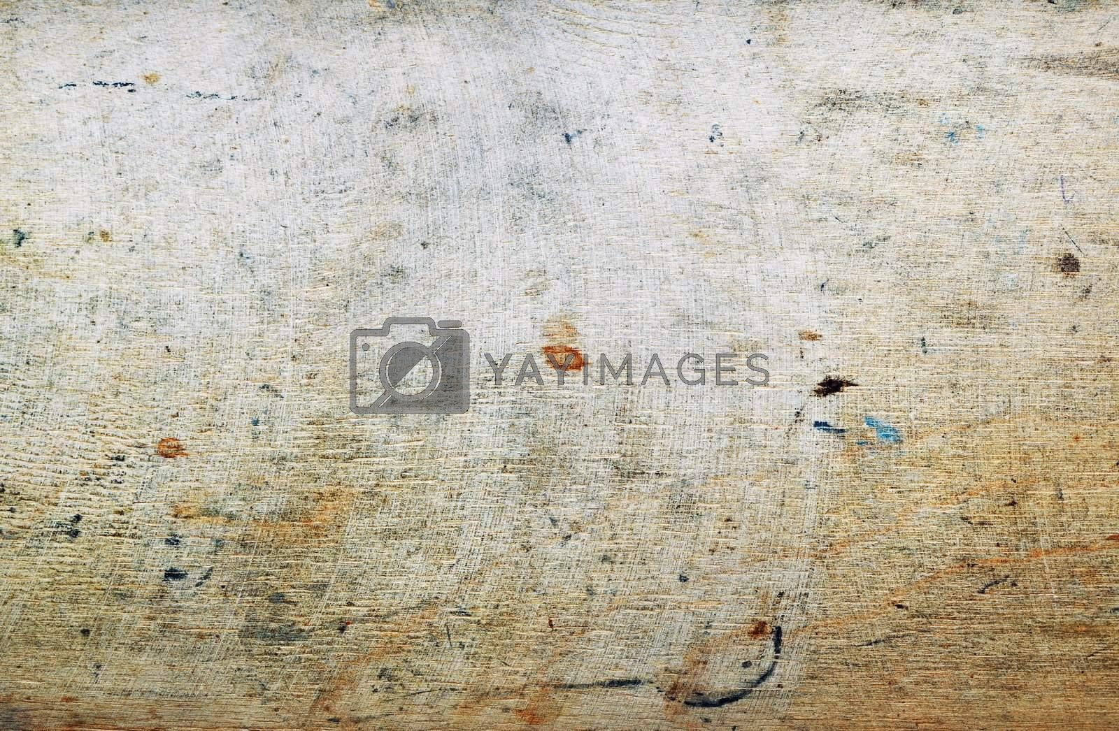 Grungy wooden texture. Close-up horizontal photo