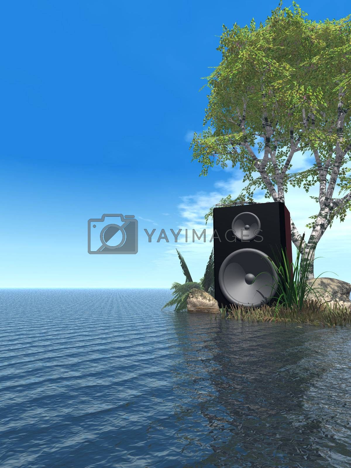 Royalty free image of sound by drizzd