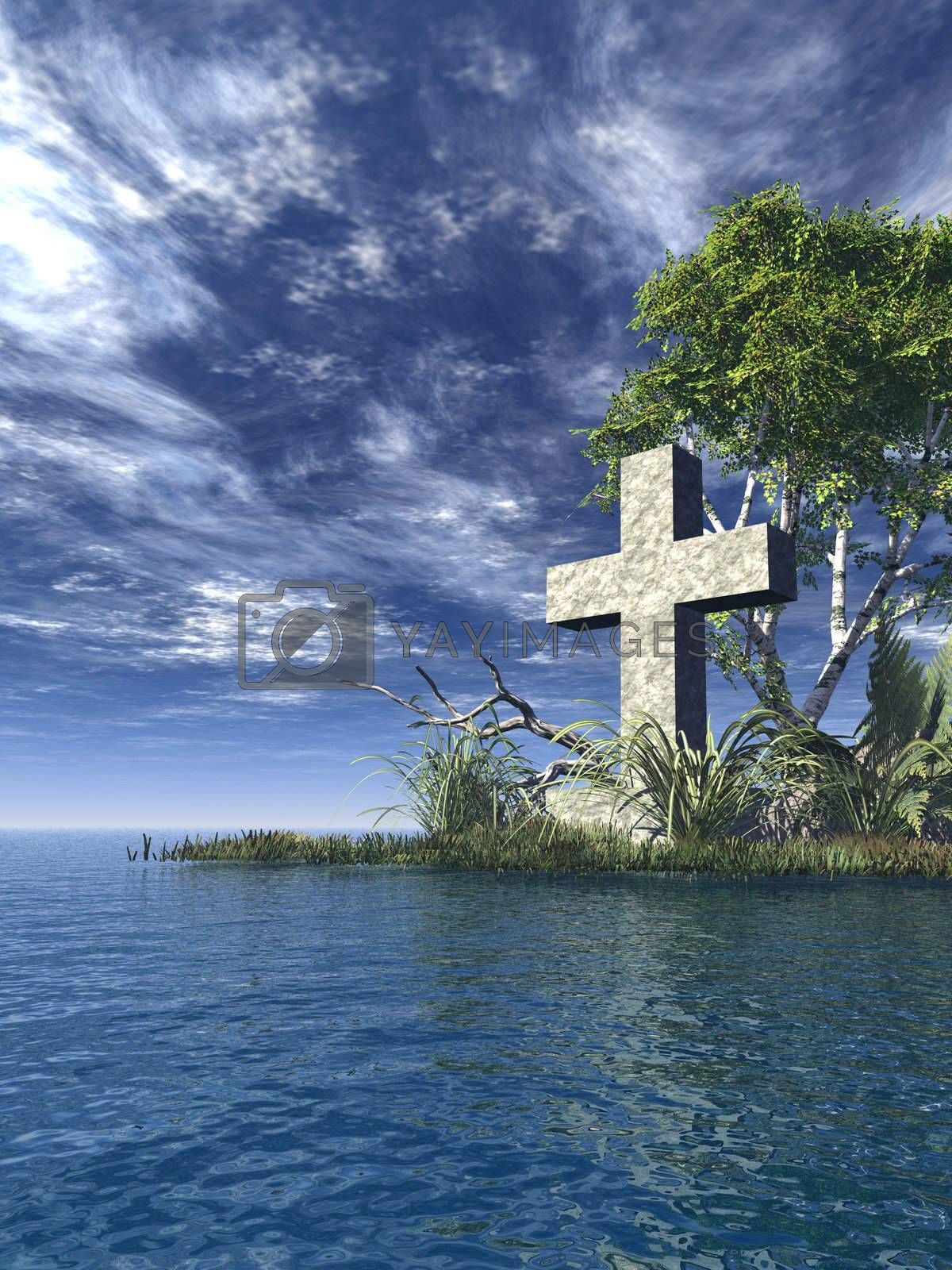 Royalty free image of holy cross by drizzd