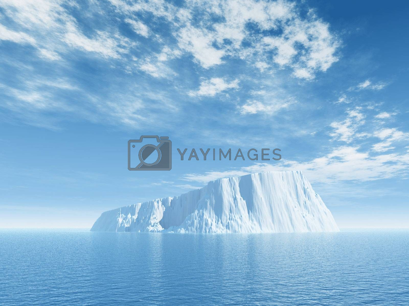 Royalty free image of ice by drizzd