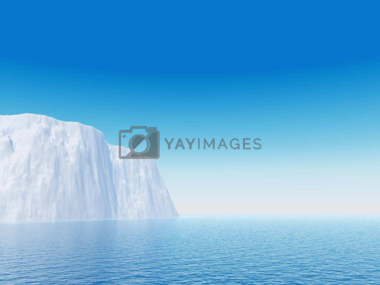 Royalty free image of iceberg by drizzd