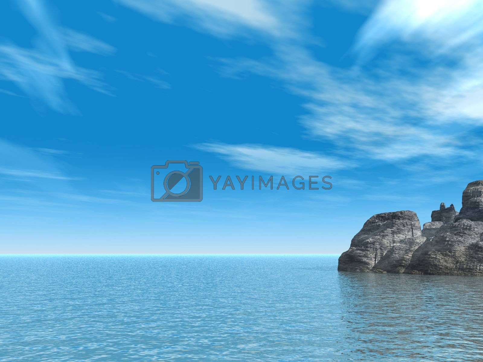 Royalty free image of rocks by drizzd