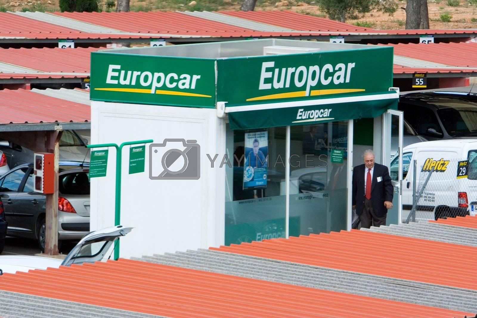 Europcar in Valencia, Spain airport