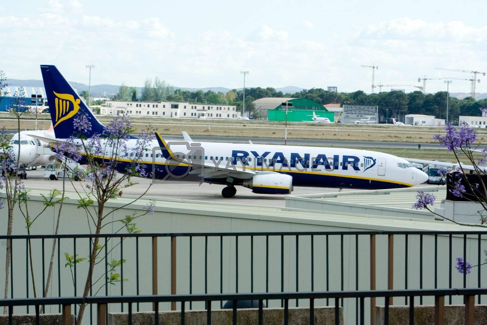 RyanAir at Valencia