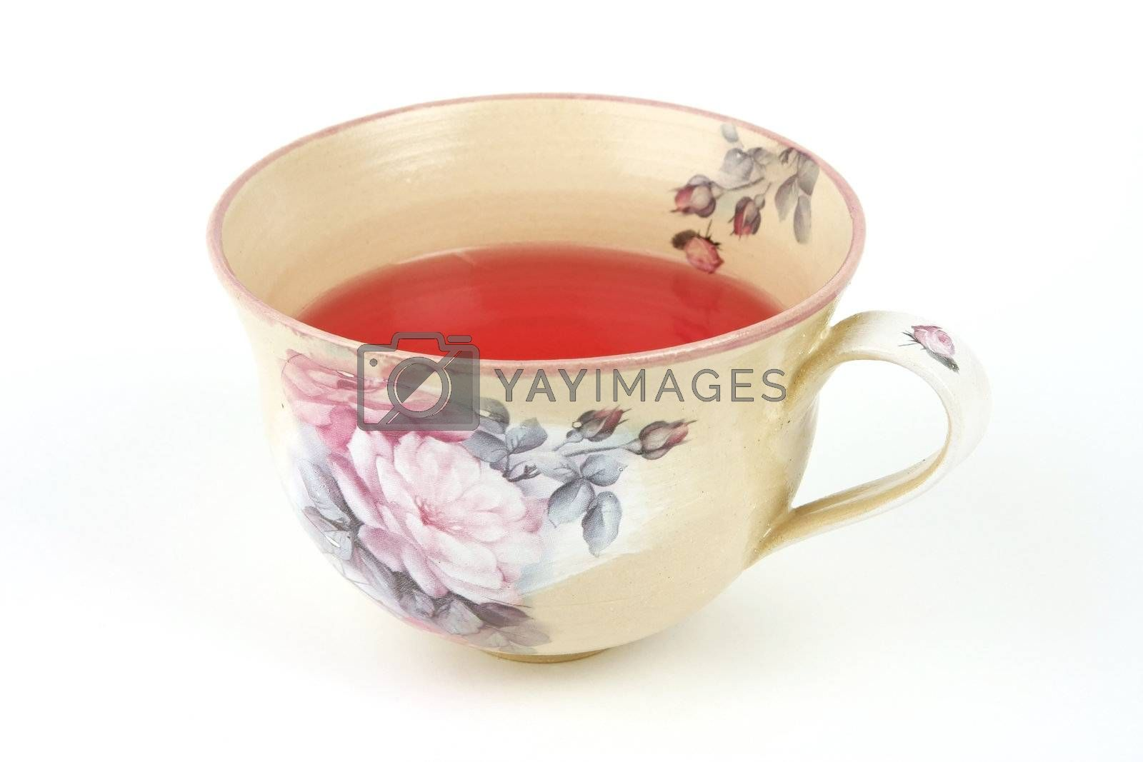 Royalty free image of Cup of tea by monicajohansen