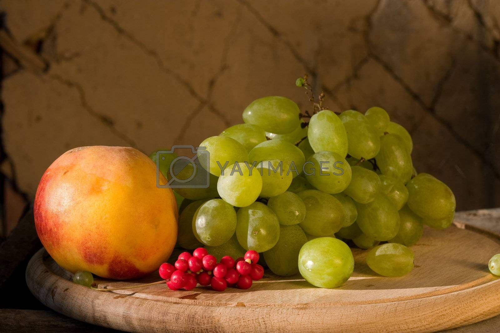 Royalty free image of fruit by agg