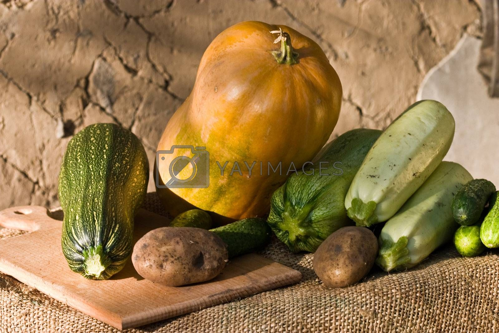 Royalty free image of vegetables by agg
