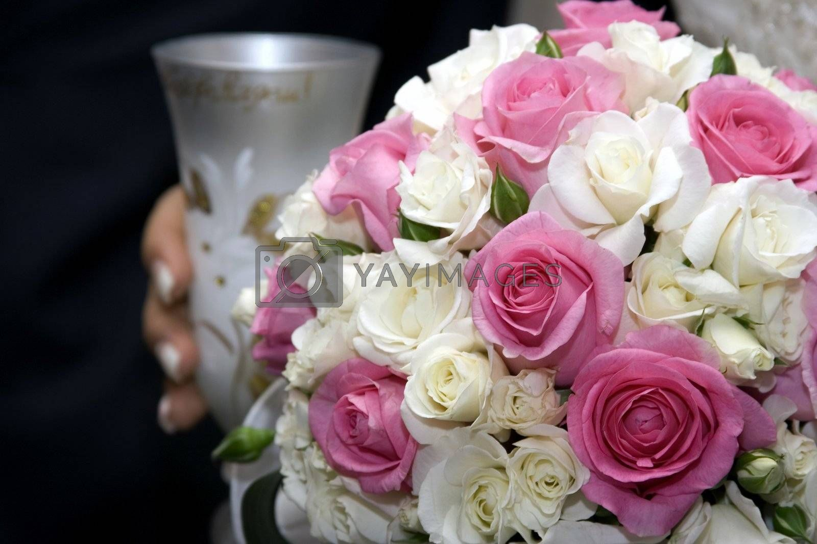 Royalty free image of Romantic wedding bouquet by janza