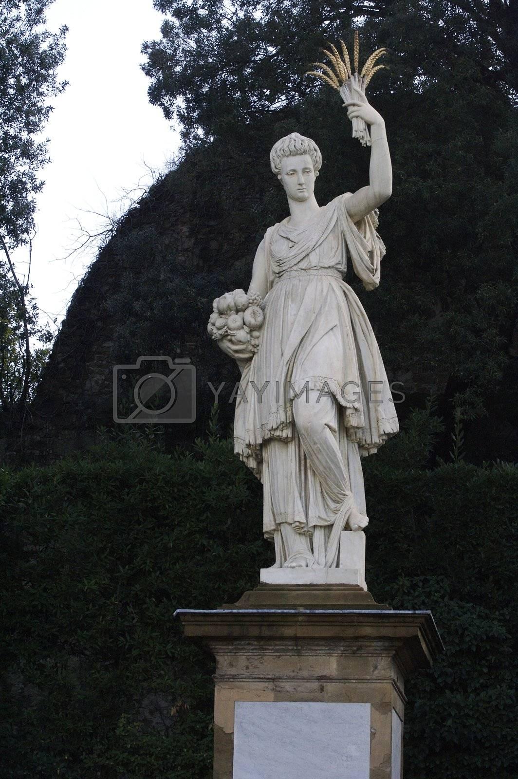 Royalty free image of Italian goddess of fertility by janza