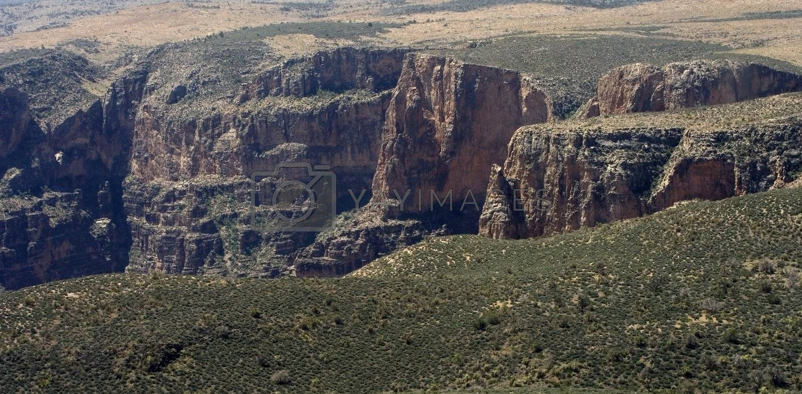 Royalty free image of Aerial view on Grand Canyon by janza