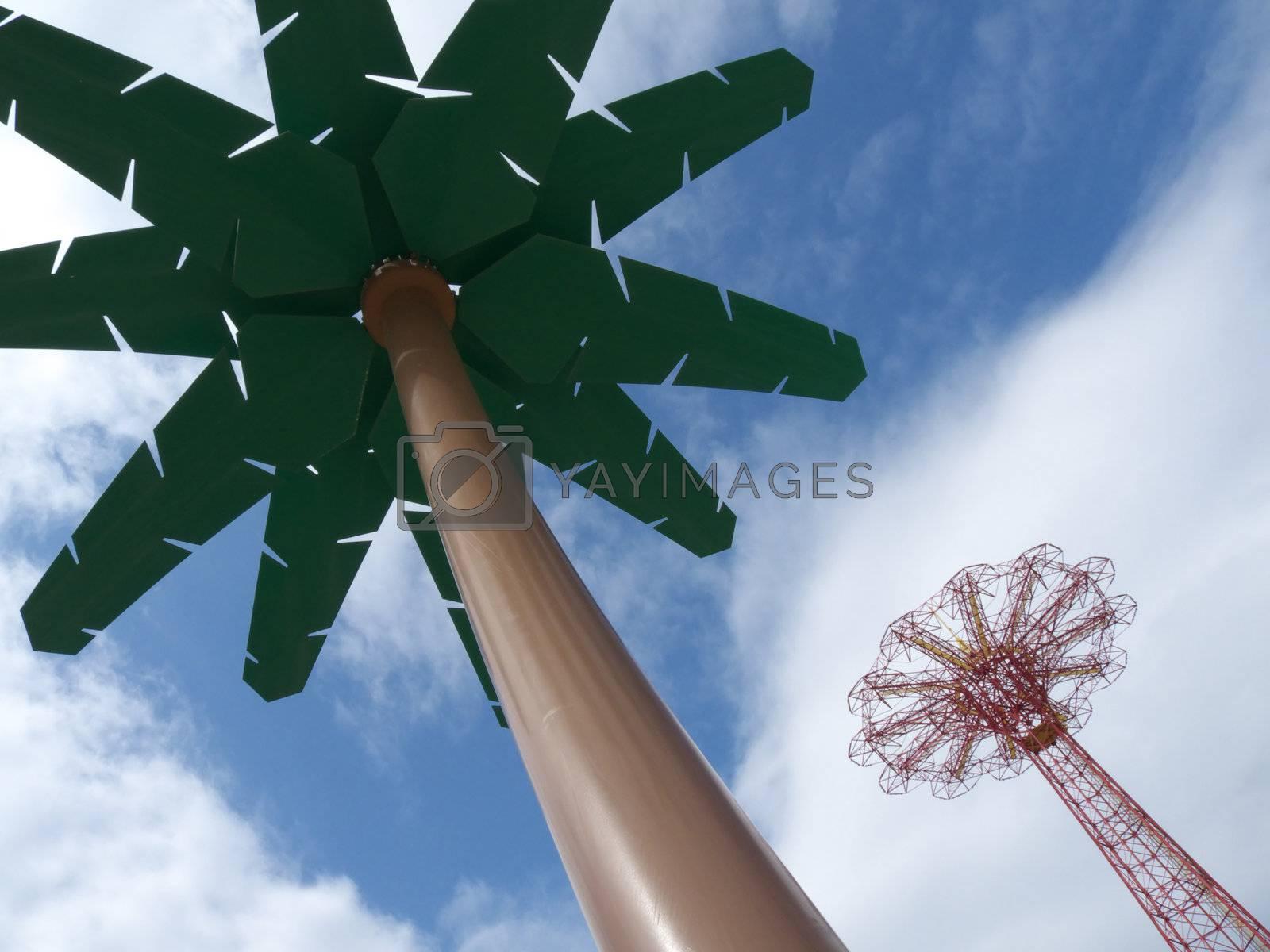 Royalty free image of Parachute by Jule_Berlin