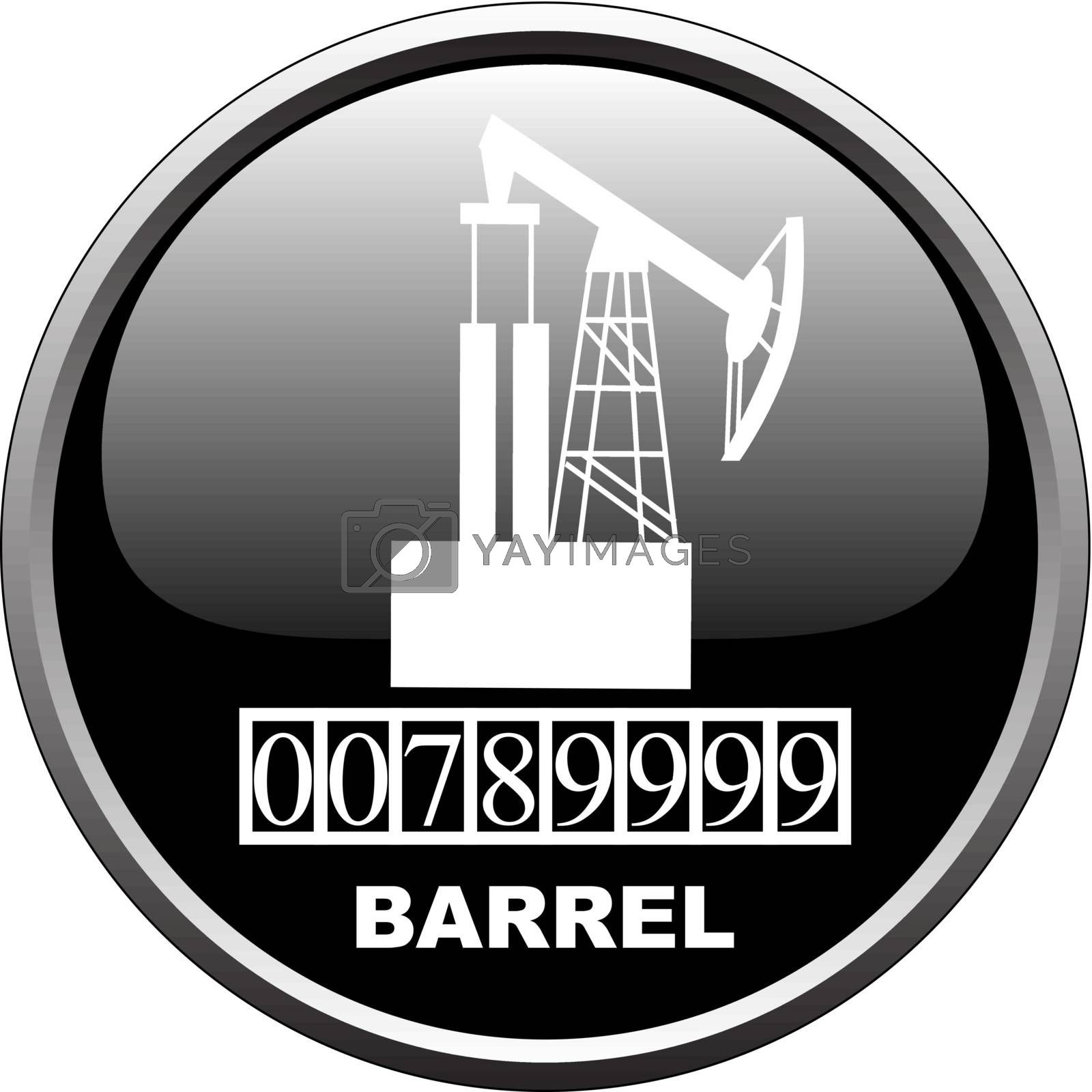 Royalty free image of Barrel measure device by EugenP