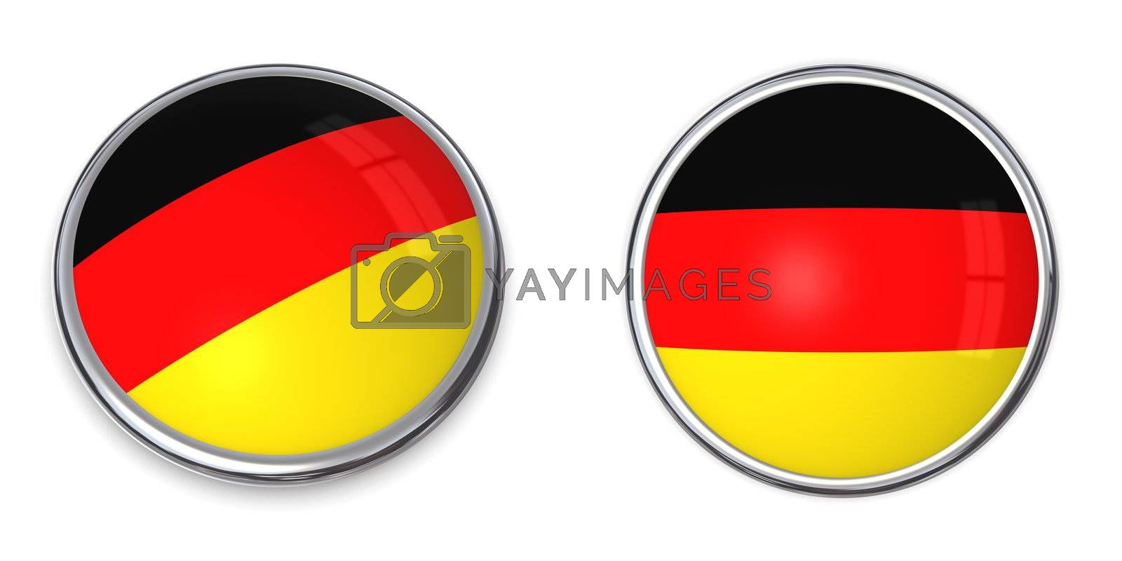 Royalty free image of Banner Button Germany by PixBox