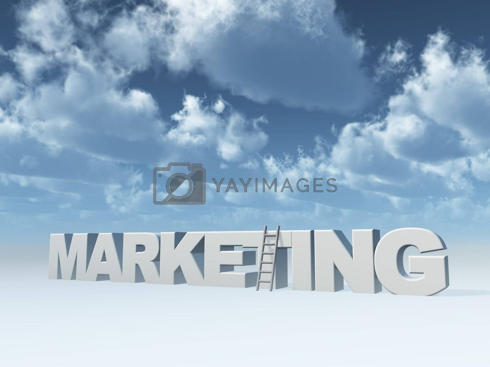 Royalty free image of marketing by drizzd