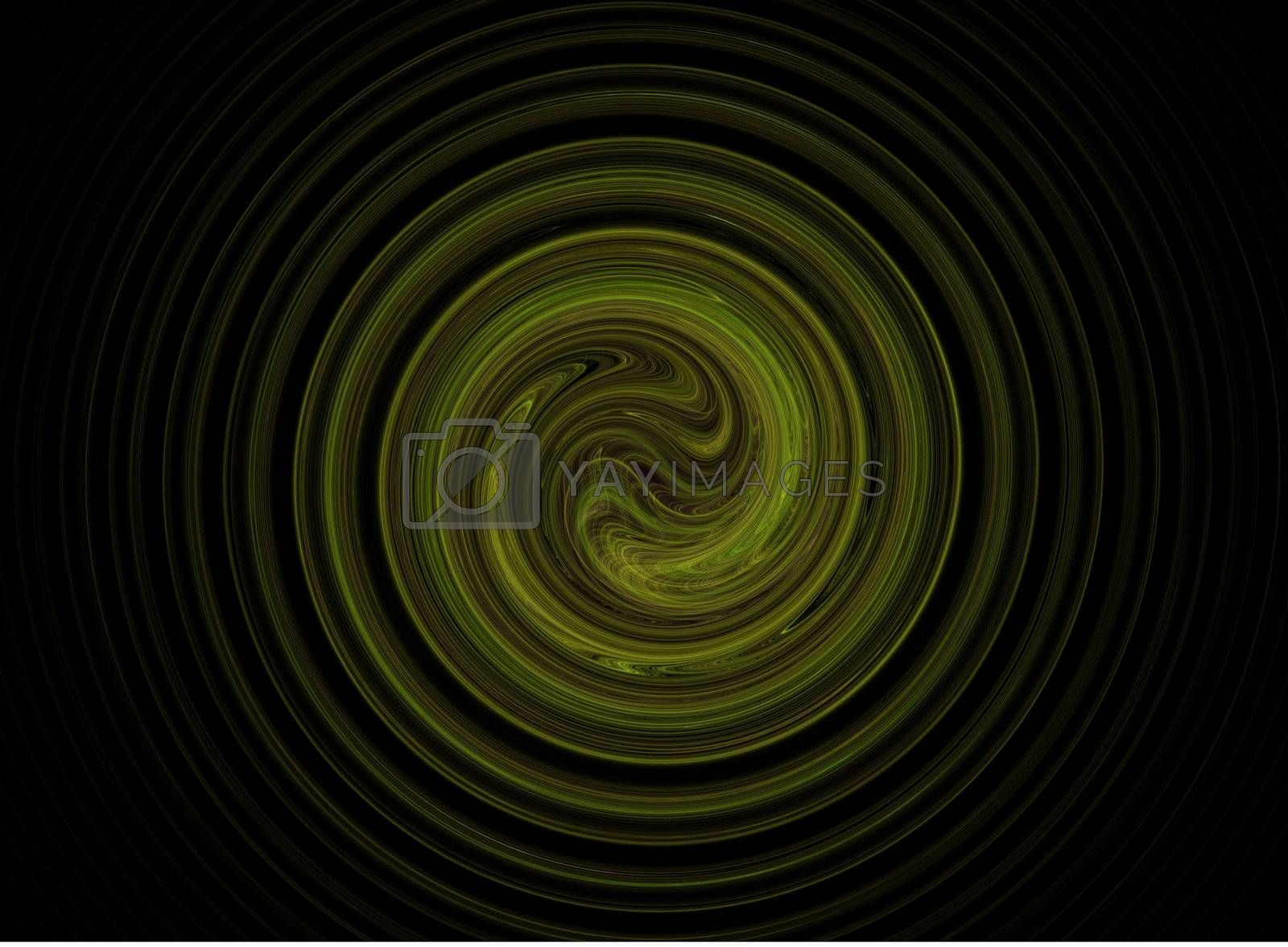 abstract green background swirl